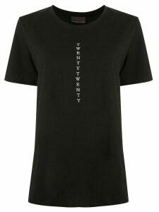Ginger & Smart Twenty Twenty embroidered T-shirt - Black