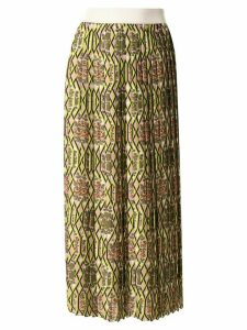 Manning Cartell pleated floral-print skirt - Multicolour