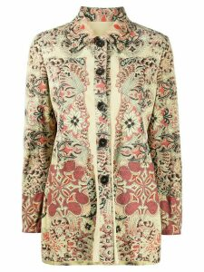 Etro bohemian-print regular-fit shirt - NEUTRALS