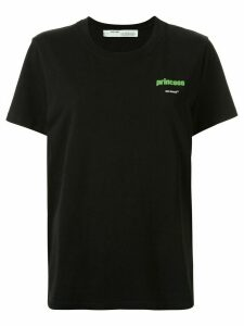 Off-White Princess casual T-shirt - Black