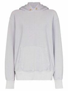 Les Tien long sleeve hoodie - PURPLE