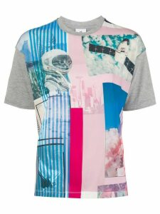 PS Paul Smith space graphic T-shirt - Grey