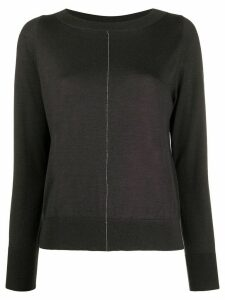 Fabiana Filippi round neck jumper - Grey