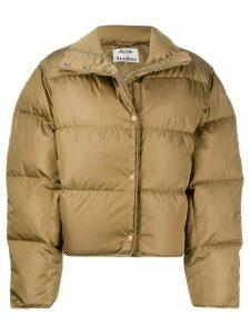 Acne Studios short puffer jacket - Brown