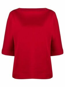 Marni loose-fit wide-sleeves blouse - Red