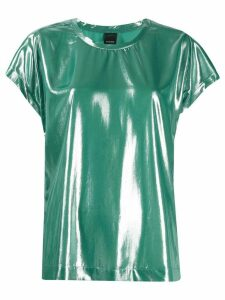 Pinko Fasrisa 17 laminated blouse - Green
