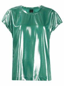 Pinko Fasrisa 17 laminated blouse - Green