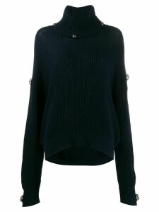 Christopher Kane Dome knitted jumper - Blue