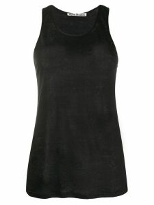 Acne Studios fine knit tank top - Black