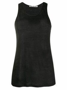 Acne Studios fine knit tank top - Black