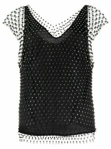 Pinko Esteban mesh blouse - Black