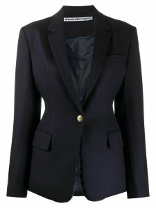 Alexander Wang tailored single-breasted blazer - Blue