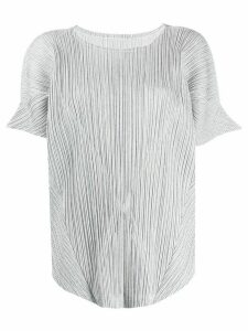 Pleats Please Issey Miyake Pleats Please blouse - Grey