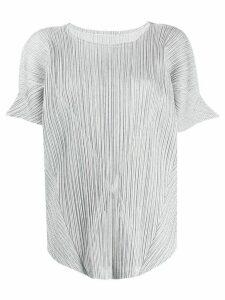 Pleats Please Issey Miyake Pleats Please blouse - Grey