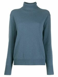 Filippa K turtle neck cashmere jumper - Blue