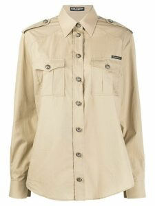 Dolce & Gabbana safari shirt - NEUTRALS