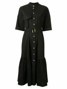 Ginger & Smart Prosper belted shirt dress - Black