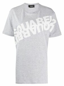Dsquared2 mirror-logo oversized T-shirt - Grey