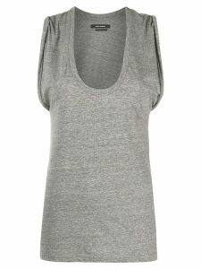 Isabel Marant Maik scoop-neck tank top - Grey