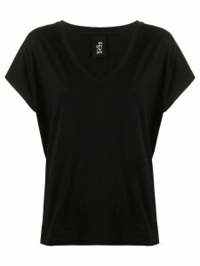 Thom Krom V-neck short sleeve T-shirt - Black