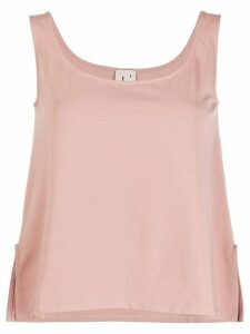 L'Autre Chose square neck sleeveless top - PINK