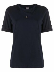 Lorena Antoniazzi Star Appliqué T-shirt - Blue