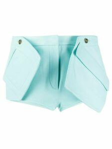 Jacquemus Boca maxi-pockets shorts - Blue