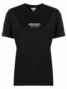 Kenzo logo print short-sleeved T-shirt - Black