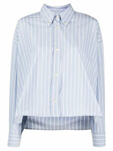 Isabel Marant Macao striped boxy-fit shirt - Blue