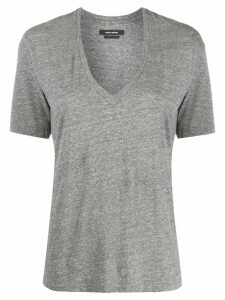 Isabel Marant Maree relaxed-fit cotton T-shirt - Grey