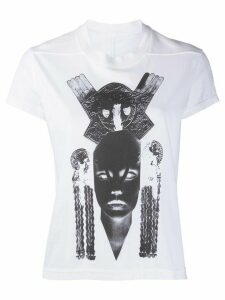 Rick Owens DRKSHDW graphic-print cotton T-shirt - White