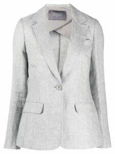 Lorena Antoniazzi single breasted jacket - Grey
