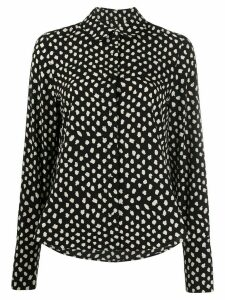Essentiel Antwerp Van polka-dot shirt - Black