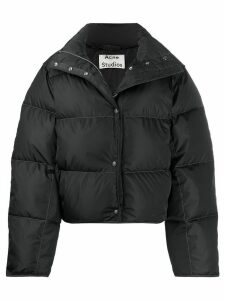 Acne Studios short puffer jacket - Black