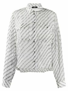Diesel copyright-print shirt - White