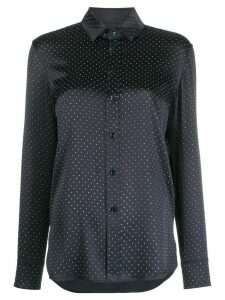 Saint Laurent micro-stud shirt - Blue