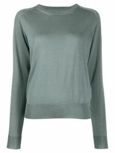 Maison Margiela knitted jumper - Blue