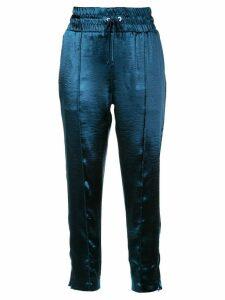 Cinq A Sept Adalie track trousers - Blue