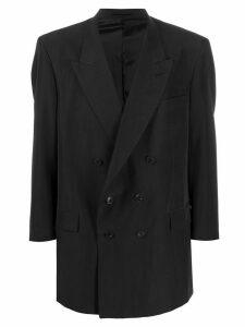 Martine Rose oversized double-breasted blazer jacket - Black