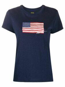 Ralph Lauren USA flag T-shirt - Blue