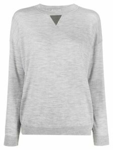 Brunello Cucinelli relaxed fit sweatshirt - Grey
