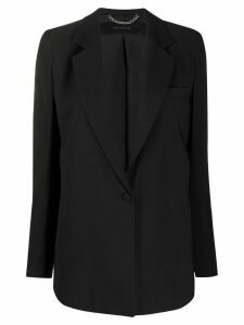 Federica Tosi fitted single-breasted blazer - Black