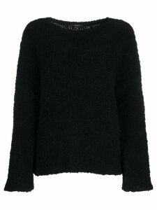 Gucci textured jumper - Black