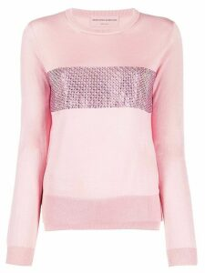 Ermanno Scervino sequin detail jumper - PINK