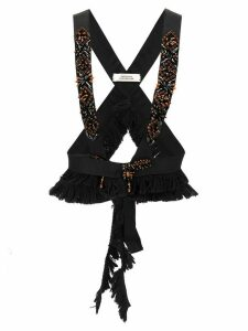 Dorothee Schumacher Playful Rebel embroidered harness - Black