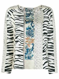 Pierre-Louis Mascia printed silk blouse - NEUTRALS