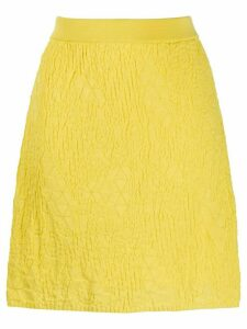 M Missoni textured knit skirt - Yellow