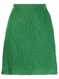 M Missoni textured knit skirt - Green