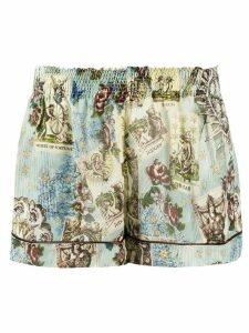F.R.S For Restless Sleepers floral print shorts - Blue