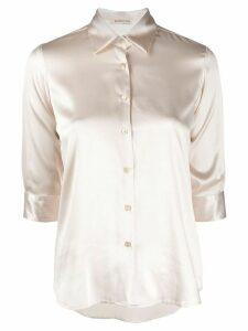 Blanca Vita Camilla silk shirt - NEUTRALS